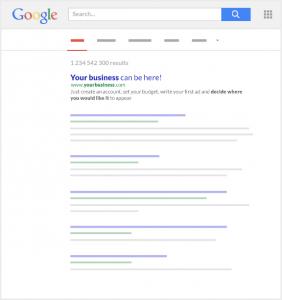 Przykład seo wyszukiwania