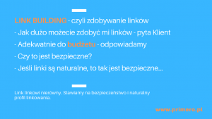 co to jest link building