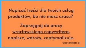 copywriter wrocław