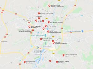 pozycjonowanie lokalne rzeszów mapa