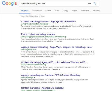 content marketing wrocław